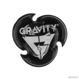 Gravity grip Icon mat - black