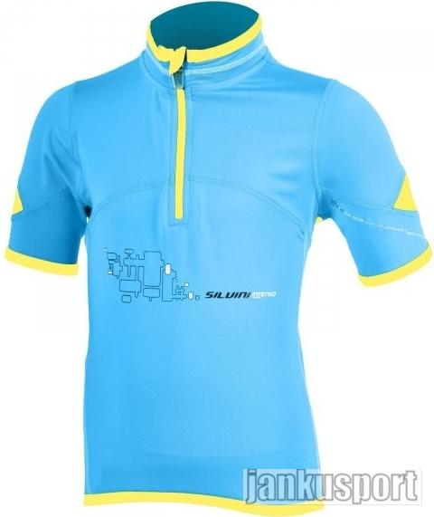 Cyklo dres Silvini Intenso blue