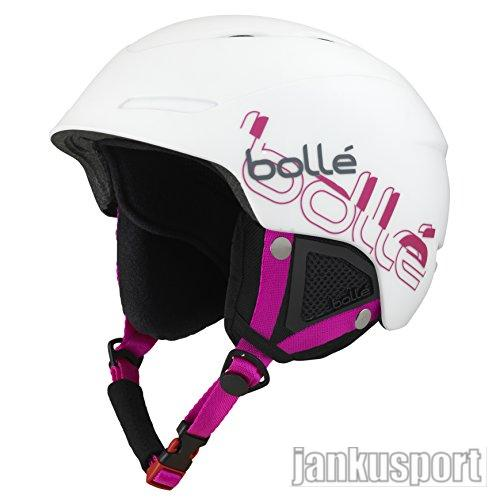 Bolle B-yond white a pink vel. 54-58