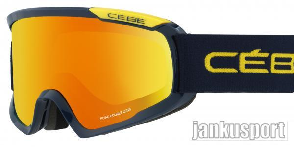 Cébé – Fanatic M Blue a yellow orange, orange flash