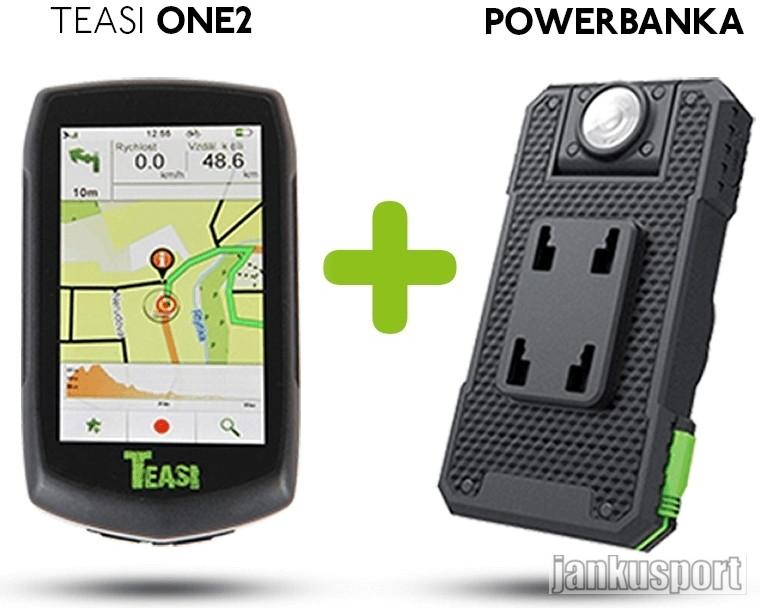 Navigace Teasi One 2 + powerbanka