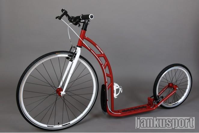 Koloběžka Morxes Sport - červená perleť