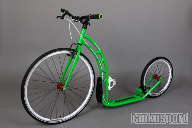 Koloběžka Morxes Sport - zelená