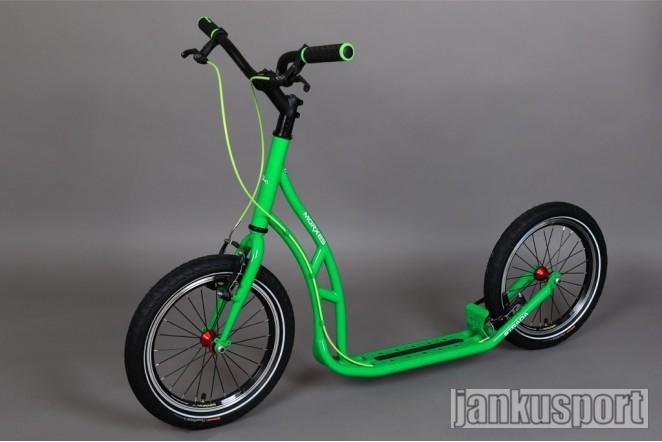 Koloběžka Morxes Strada zelená