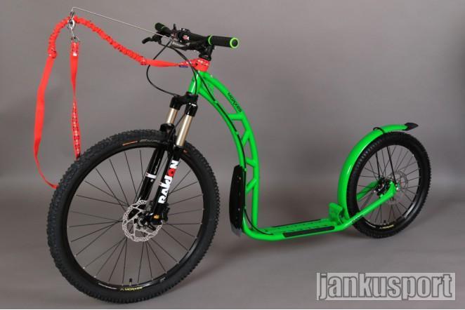 Morxes Cane R zelená (Koloběžka Morxes)
