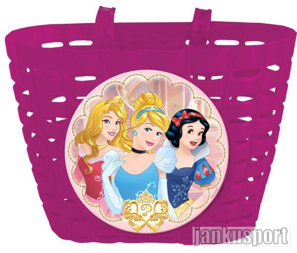 Princess Disney plastový - Koš (Koš na řidítka Princess)