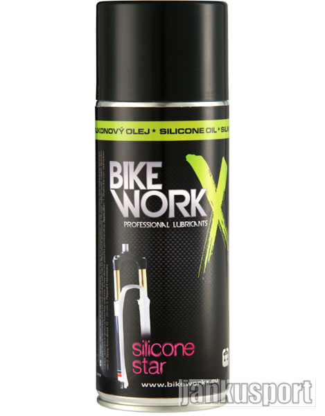 Bikeworkx Silicon star 200ml - Olej (Olej Silicon Bikeworkx)