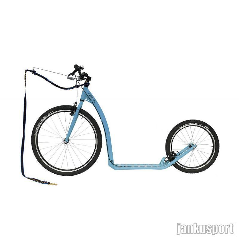 Koloběžka Kostka Tour max dog - Pastelově modrá