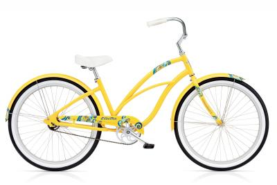 ELECTRA  Lux 1 Ladies'Yelow - Cruiser