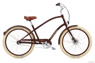 ELECTRA Townie Balloon 3i EQ Men's Brown Metallic