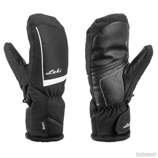 Glove Mia Junior Mitt black-white 040