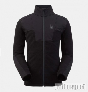 Spyder-M Basin Full Zip-Jacket-volcano