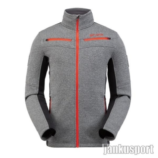 Spyder M Wengen Encore Full Zip Jacket Ebony