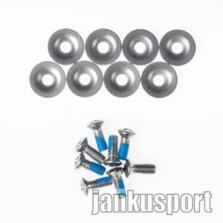Gravity Binding Screws Silver